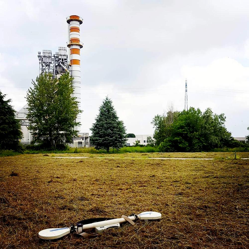 progettazione cantiere indagini elettromagnetiche demetra